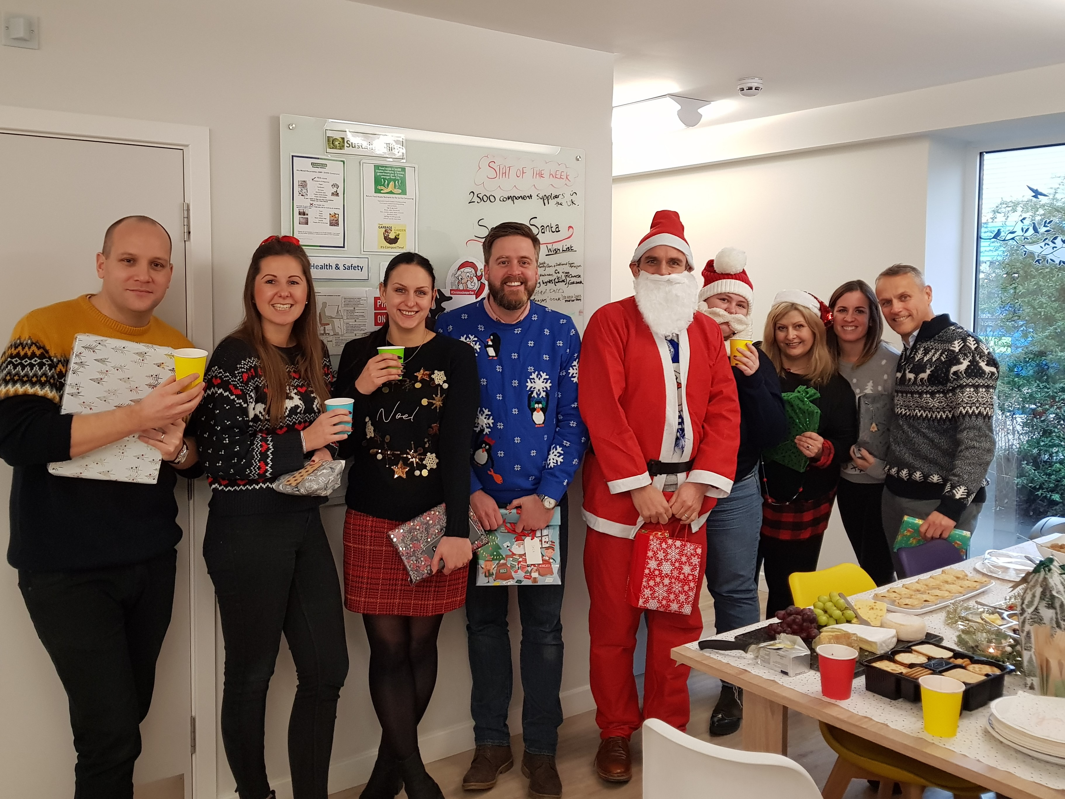 Christmas Jumper Day Team Photo